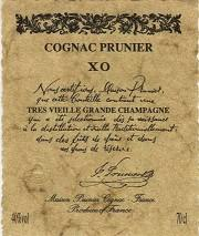Maison Prunier Cognac XO